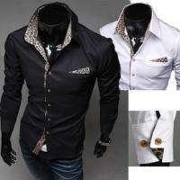 Korean Sexy Leopard Slim Shirt Simple Casual Style Shirt 3258