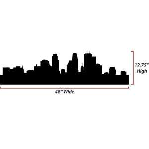 Skyline Silhouette  Large  Vinyl Wall Decal: Everything Else