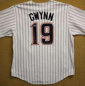 Tony Gwynn Autographed San Diego Padre Pinstripe Jersey