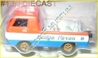 DODGE A 100 DRAG TRUCK PICKUP DODGE FEVER 2011 DIECAST JL JOHNNY
