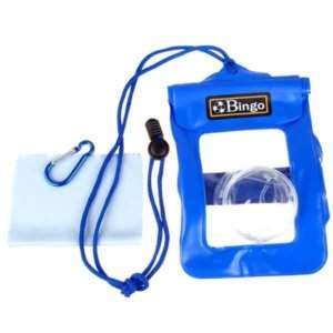 New Underwater Blue Digital Camera Waterproof Case Bag