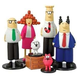 Dilbert 6pc Action Figure Set 15 122 Toys & Games