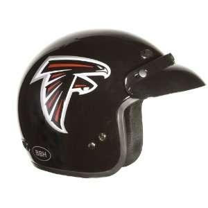 Small NFL Atlanta Falcons Motorcycle Three Quarter Helmet Automotive