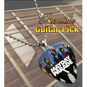 Mayday Parade Premium Guitar Pick Necklace Musical