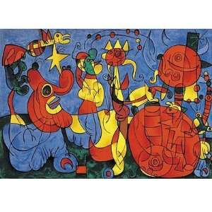 Joan Miro Ubu Roi Jigsaw Puzzle 1000pc Toys & Games