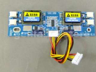 Universal CCFL Inverter LCD Monitor Inverter 10 28V 4 Lamp for 15 22