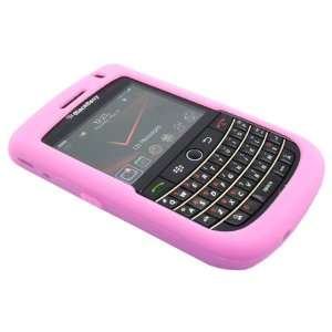 Pink Silicone Soft Skin Case Cover for Blackberry Tour 9630 / Niagra