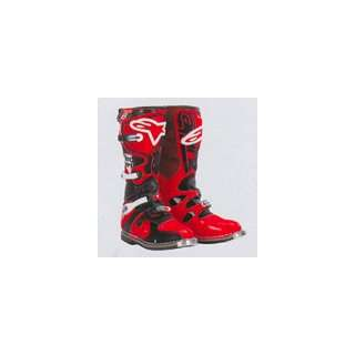 ALPINESTARS TECH 8 RED/BLACK 6 201104 30 6 Automotive