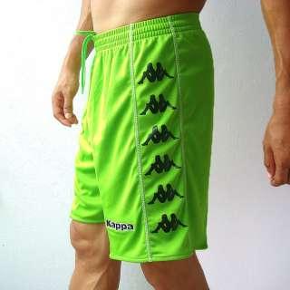 KAPPA Mens Football Soccer Jersey Shorts Green M L XL