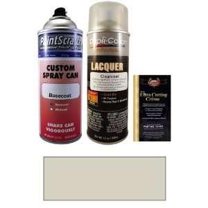 Oz. Snow Silver Metallic Spray Can Paint Kit for 2010 Saab 9 3 (309