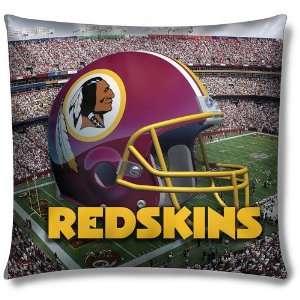 Washington Redskins NFL Photo Real Toss Pillow (18 x18 )