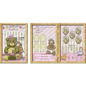 Baby Keepsake Book Frame   Teddi the Bear AAG