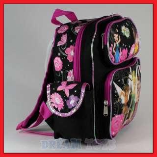 Disney Tinkerbell 12 Toddler Black Backpack Girls Bag