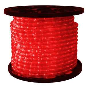 Red   LED Rope Light   1/2 in. Dia.   2 Wire   12 Volt   150 ft. Spool