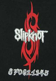 vintage SLIPKNOT TORTURE CHAIR 1999 Concert t shirt L rock metal
