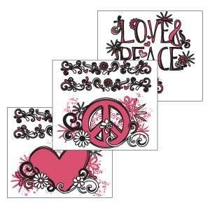 Scentsy Peace Sign Black Scentsy DIY Theme Pack