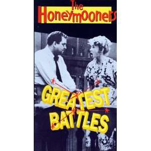 Honeymooners Greatest Battles [VHS] Jackie Gleason, Art