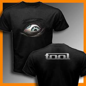 New Design TOOL BAND Black T Shirt Size S, M, L, XL, 2XL, 3XL
