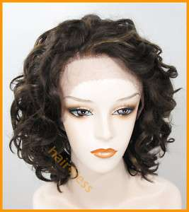 100% REMY Human Hair Lace Front Wig CHANTE Choose Color