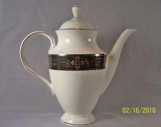 NEW 1ST LENOX VINTAGE JEWEL PLACE SETTING BOWL COFFEE TEA POT S&P