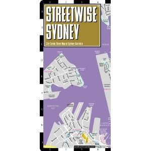 Sydney Map   Laminated City Center Street Map of Sydney, Australia