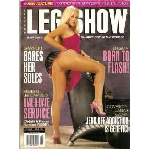 LEG SHOW MAGAZINE JUNE 2002: LEG SHOW: Books