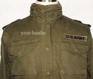 VIETNAM WAR US ARMY M65 FIELD JACKET SIZE XL  31512