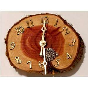 Cedar Wood Wall Clock