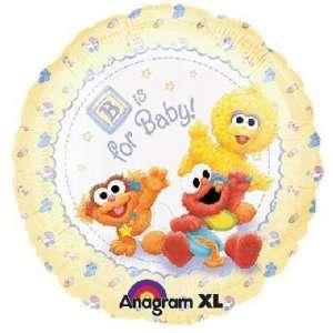 Baby Shower Balloons   18 Sesame Beginnings Baby Toys