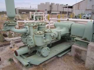 Gaso 1753 Double Acting Mud Pump, Crude Oil Pump.