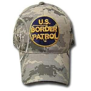 US BORDER PATROL DIGITAL STONE CAMOUFLAGE CAMO CAP HAT
