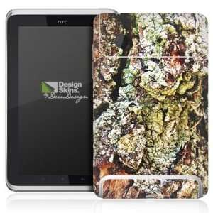 Design Skins for HTC Flyer Rueckseite   Mossy Design Folie