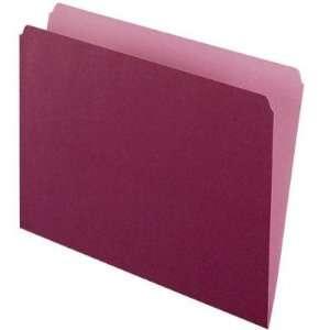 esselte ltd Pendaflex Two Tone Color File Folder ESS152BUR