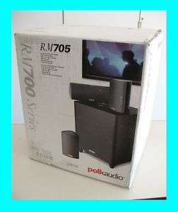POLK AUDIO RM705 5.1 CHANNEL HOME THEATER SYSTEM ★NEW★