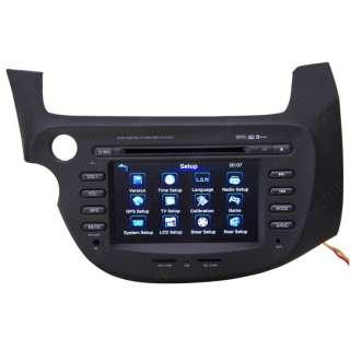 09 11 Honda Fit Car GPS Navigation Radio DVB T TV Bluetooth IPOD