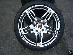 19 OEM Porsche 997 Turbo Wheels/Tires 2009 CHROME
