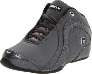 AND1 ROCKET 2.0 Mens Dark Grey Black Mid Basketball Comfort Sneaker