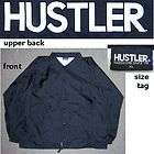 HUSTLER MAGAZINE WINDBREAKER JACKET BLACK XL NEW!