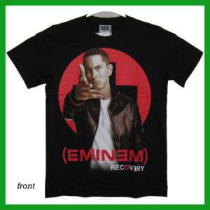 Eminem Recovery T Shirt s45 New Size M