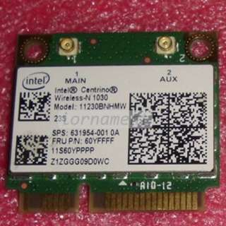 HP IBM ThinkPad Lenovo Wireless Wifi N Bluetooth BT half mini pci e