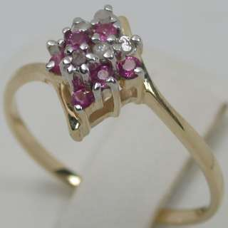 51 CARATS 14K SOLID YELLOW GOLD NATURAL PINK SAPPHIRE & DIAMOND