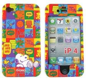 SNOOPY Skin Cover 4 APPLE iPHONE 4G Charlie Brown CASE