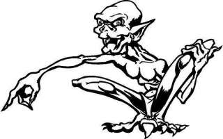Ghoul Vinyl Decal Car Cycle Truck Boat Window Sticker