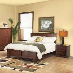 Modus Canyon Bedroom Series Canyon 3 Piece Low Profile Bedroom