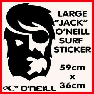 NEILL JACK Surf Sticker   LARGE   GREAT FOR A VAN