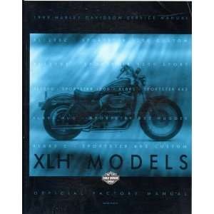 : 1999 Harley Davidson XLH Sportster Models Service Manual: Official