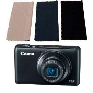 12 Pc. Canon Powershot S95 Microfiber Cleaning Cloth