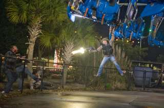 Zombieland Jesse Eisenberg, Emma Stone, Woody Harrelson