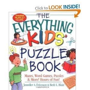 Kids Puzzle Book Mazes, Word Games, Puzzles & More Hours of Fun