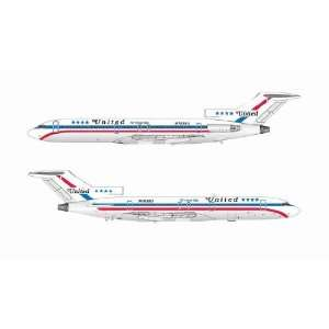 Jet X United Airlines B727 200 N7638U Model Airplane